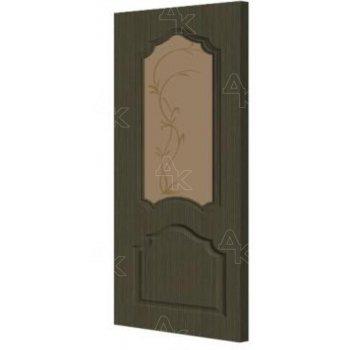 Дверь межкомнатная Экошпон Ирида ДО (х) Сатинато Бронза